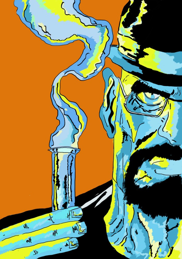 Heisenberg and the Blue Crystal / Wacom